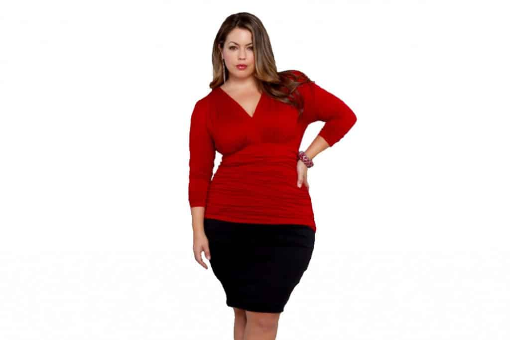 Plus Size Fashion Tips - Hourglass Body Shape