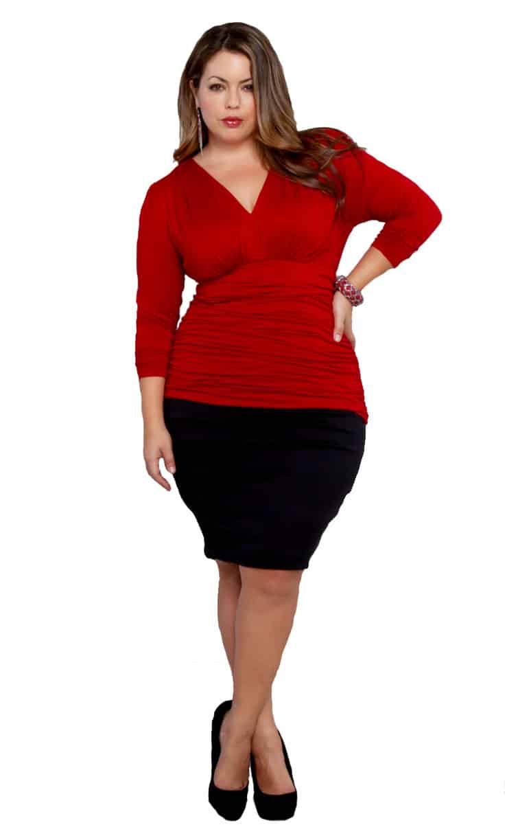 Hourglass Body Shape Plus Size Fashion Tips
