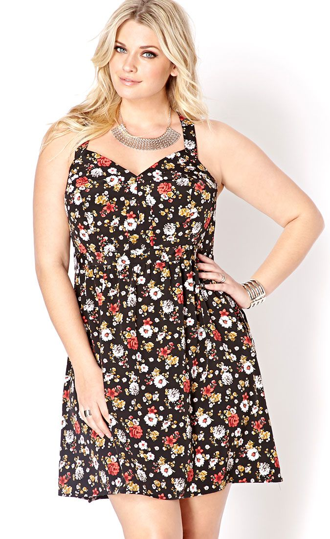 floral dress small pattern