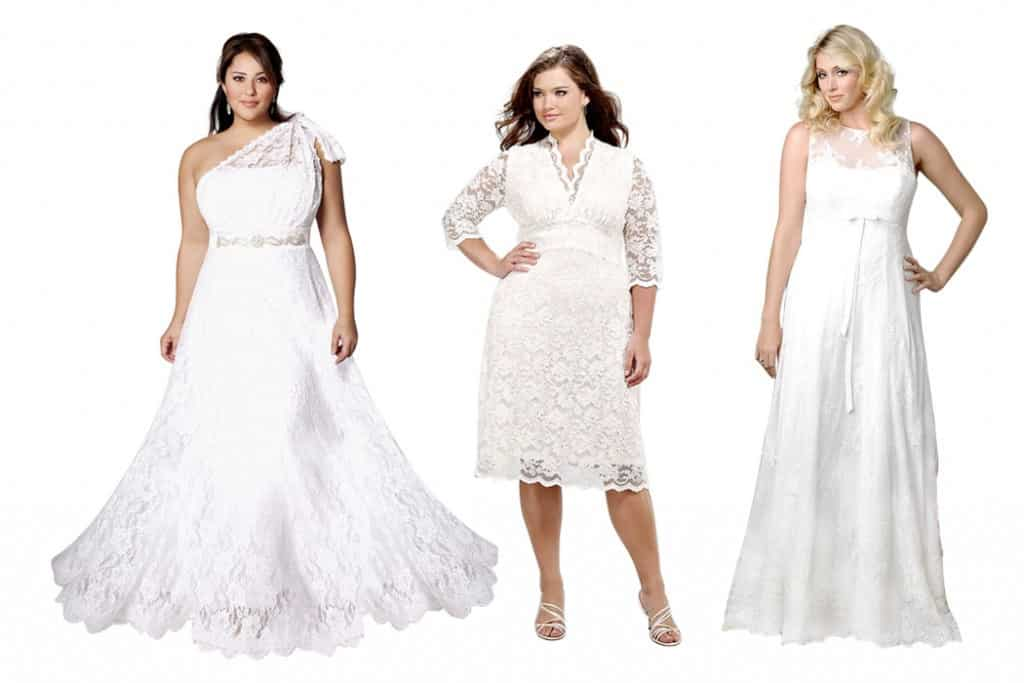 Guide to Plus Size Wedding Dress Lengths and Hems