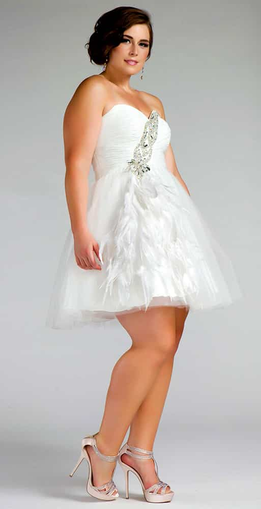 Plus Size Dresses For A Wedding Reception - Dress Foto and Picture