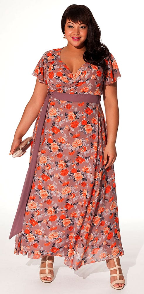 Rose Plus Size Spring Dress