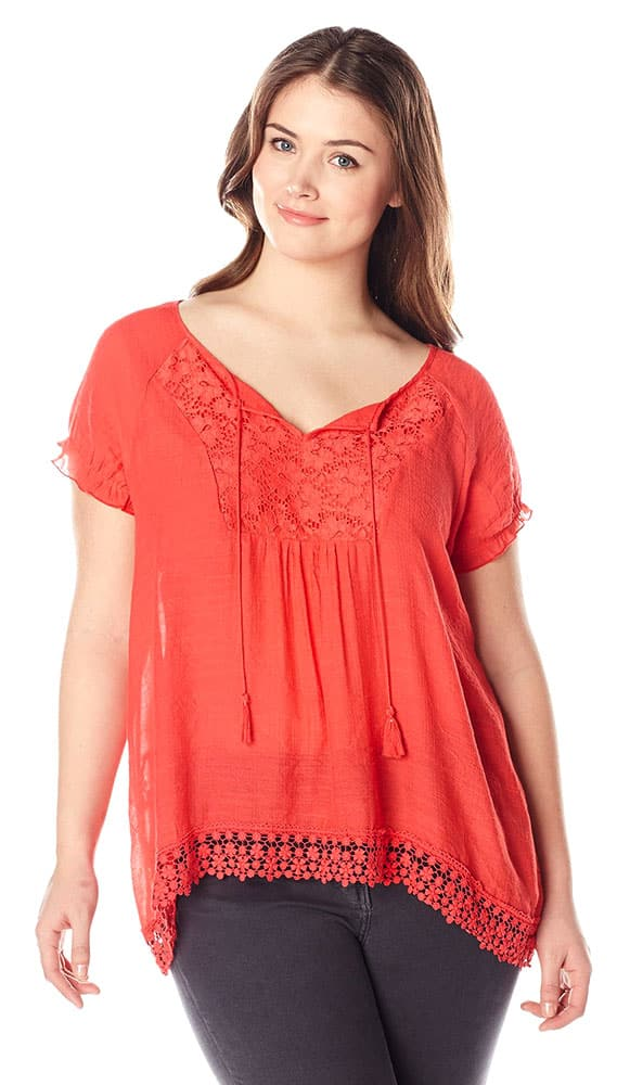 Orange Cotton Top