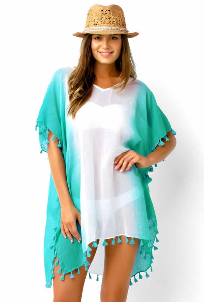 light cotton poncho