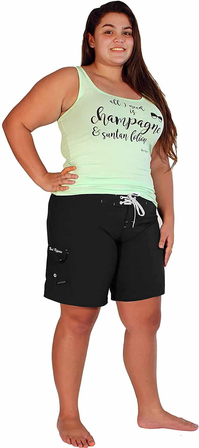 Plus Size Board Shorts 01