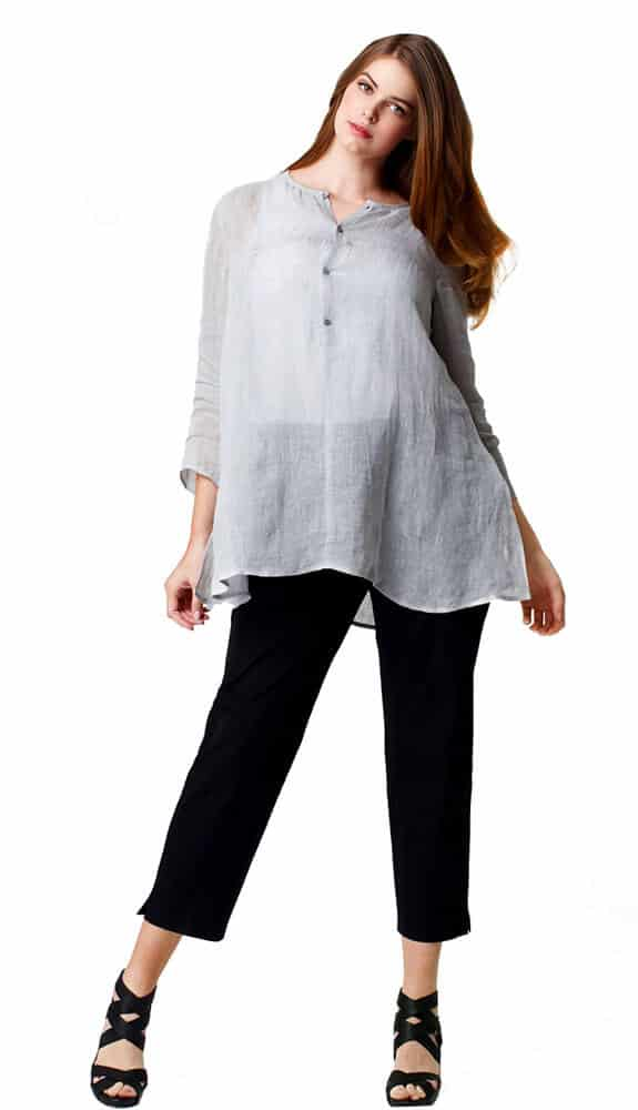 linen top loose fit