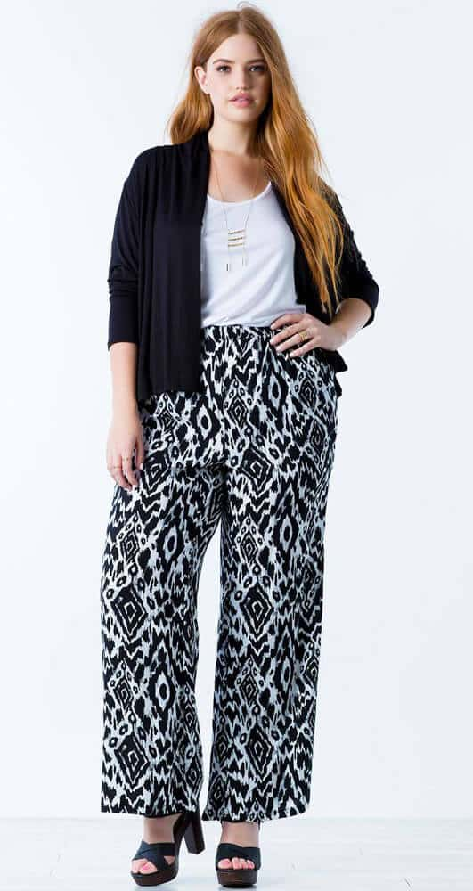 long patterned pants