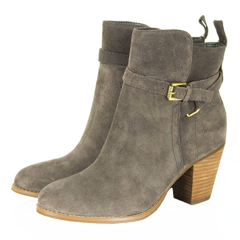 ankle boots gray