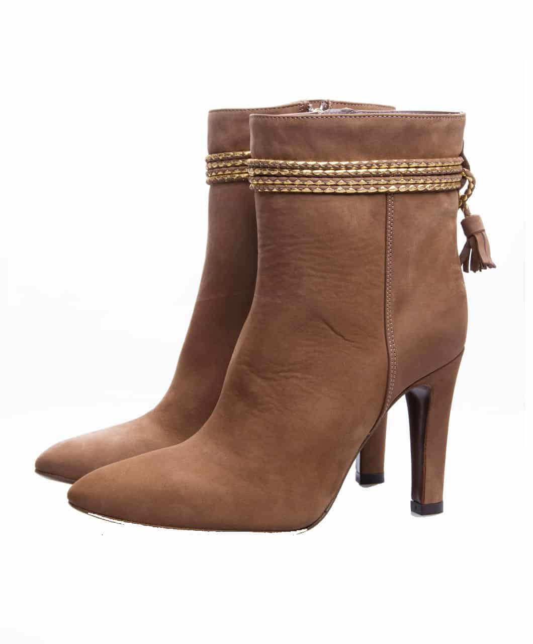 ankle boots tassle