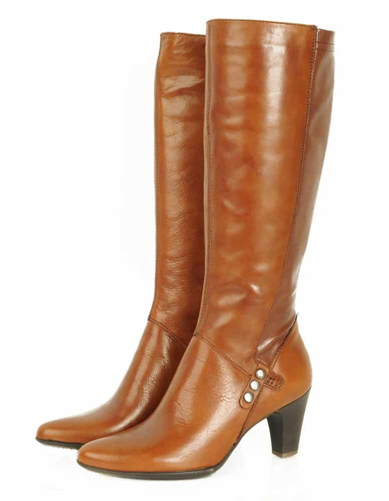 tall boots camel