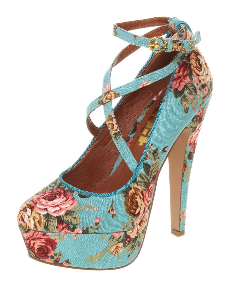 accessories floral shoes