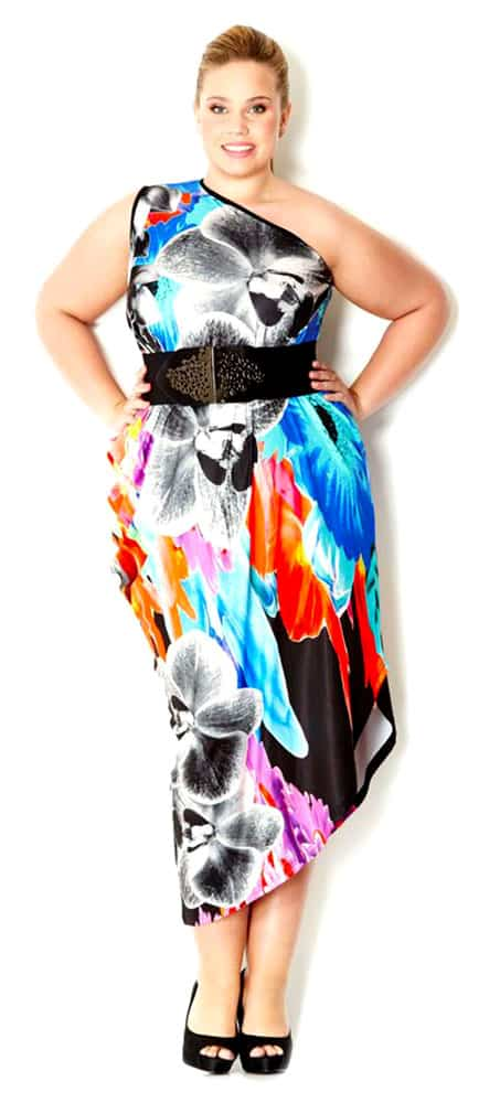 Full Length Plus Size Club Dresses 01