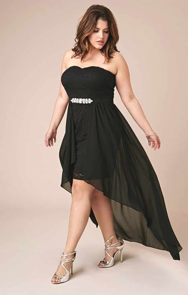 Full Length Plus Size Club Dresses 03