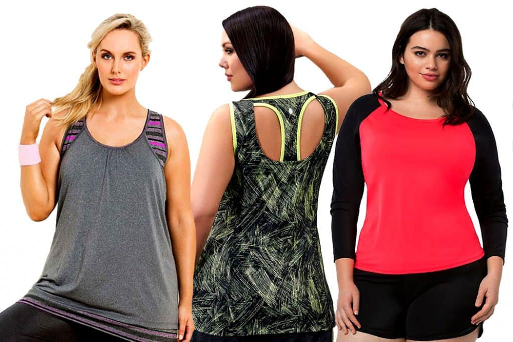 Plus Size Workout Clothes Cover