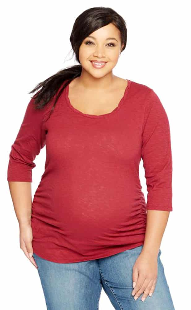Plus Size Cold Weather Maternity Wear 01