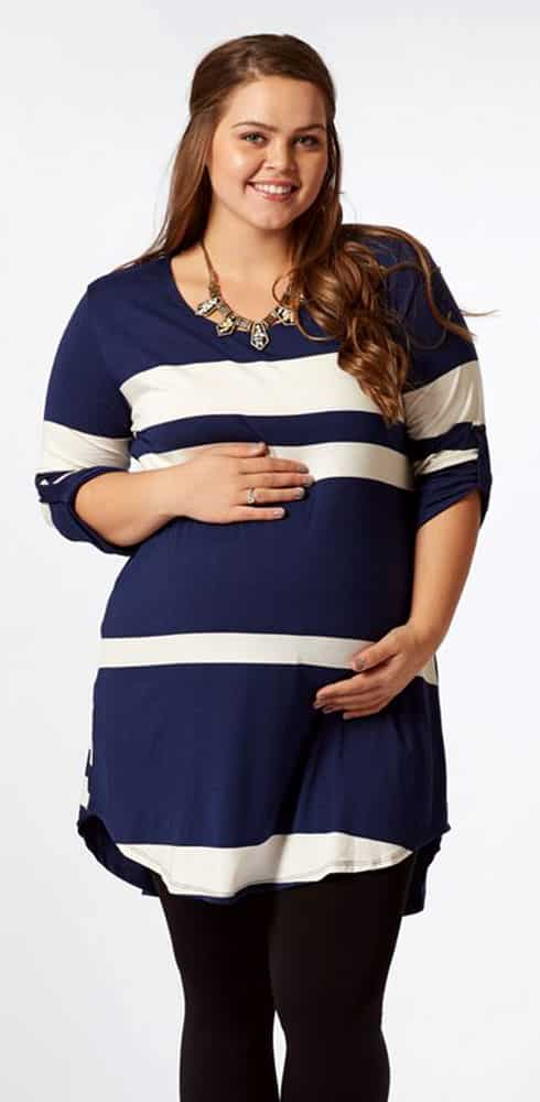 Plus Size Maternity Tops 01