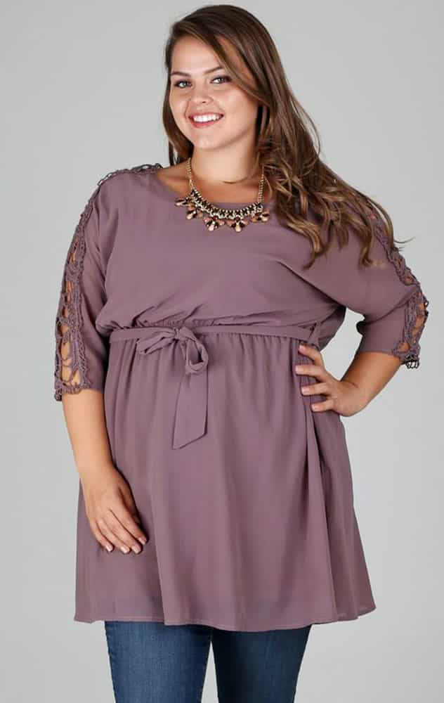 Plus Size Maternity Tops