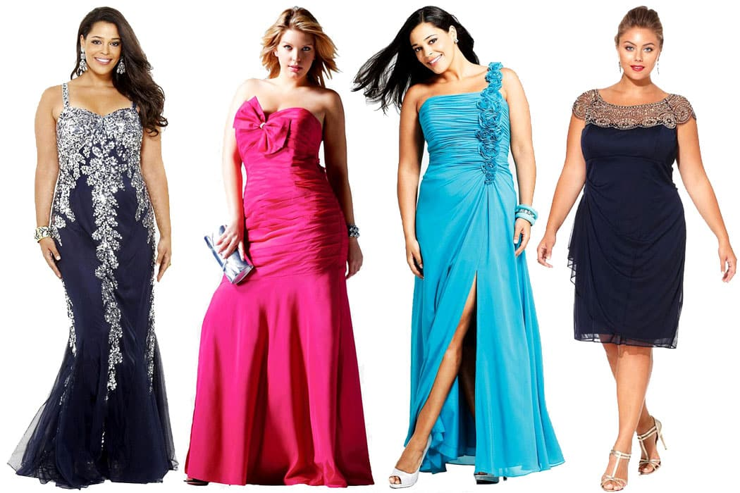 Plus size prom dress Cover