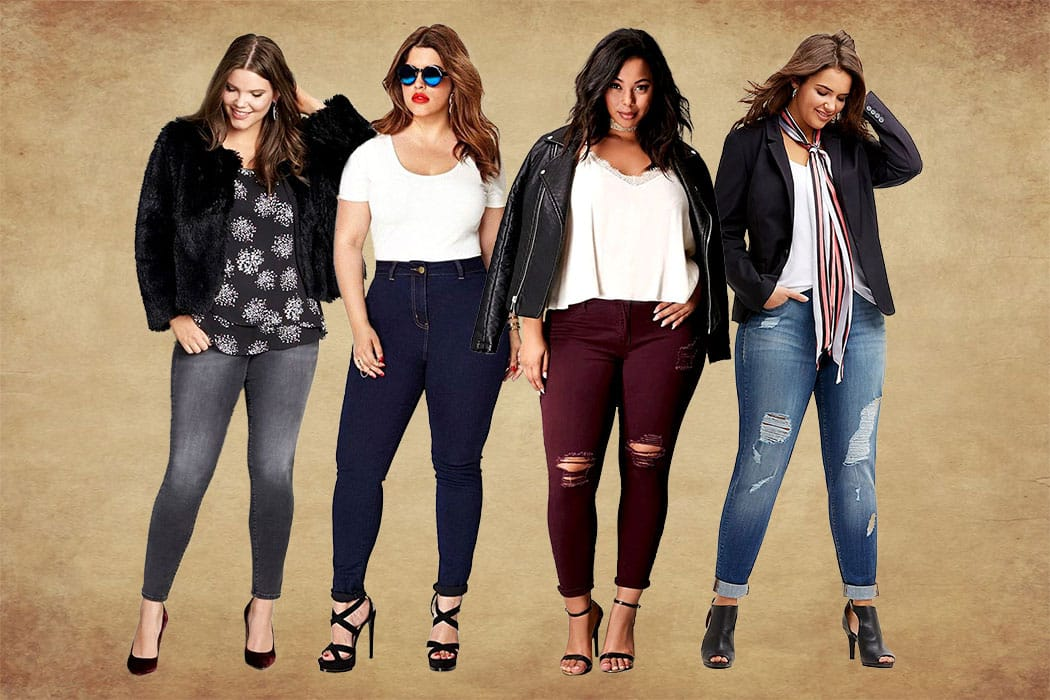 Plus Size Jeans Cover