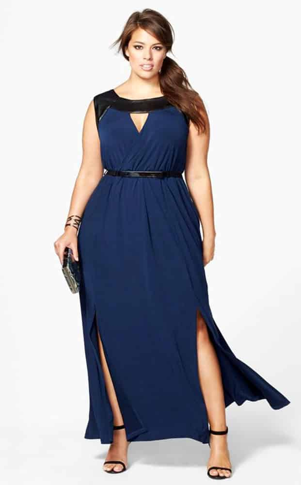 Plus Size Evening Gowns for Pear Body Shape 02