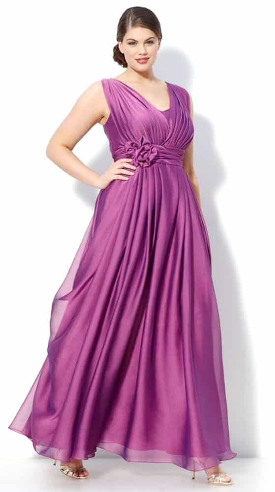 Plus Size Evening Gowns for Pear Body Shape 03