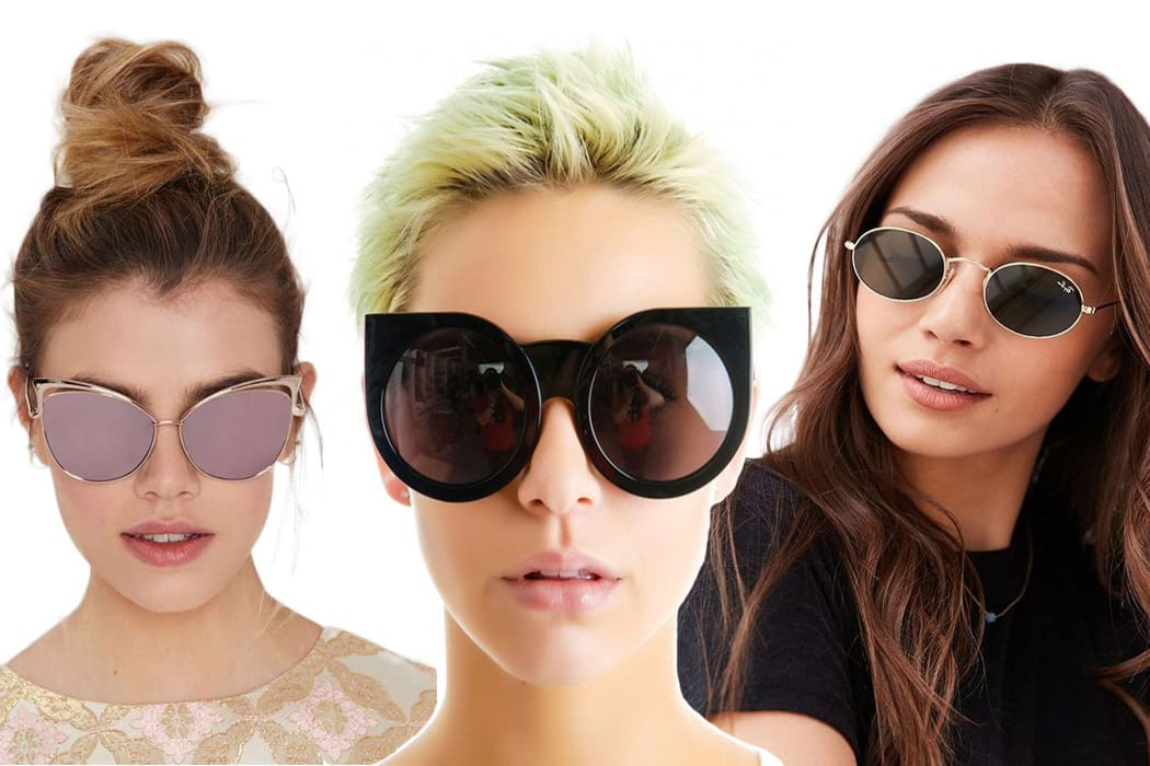 Sunglasses to flatter your face shape