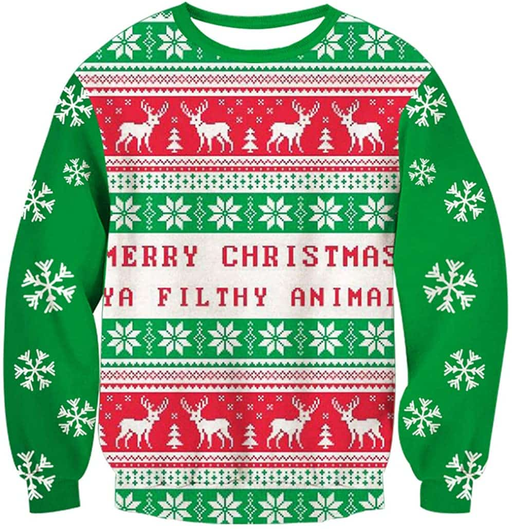 Funny Plus Size Christmas Sweaters 01