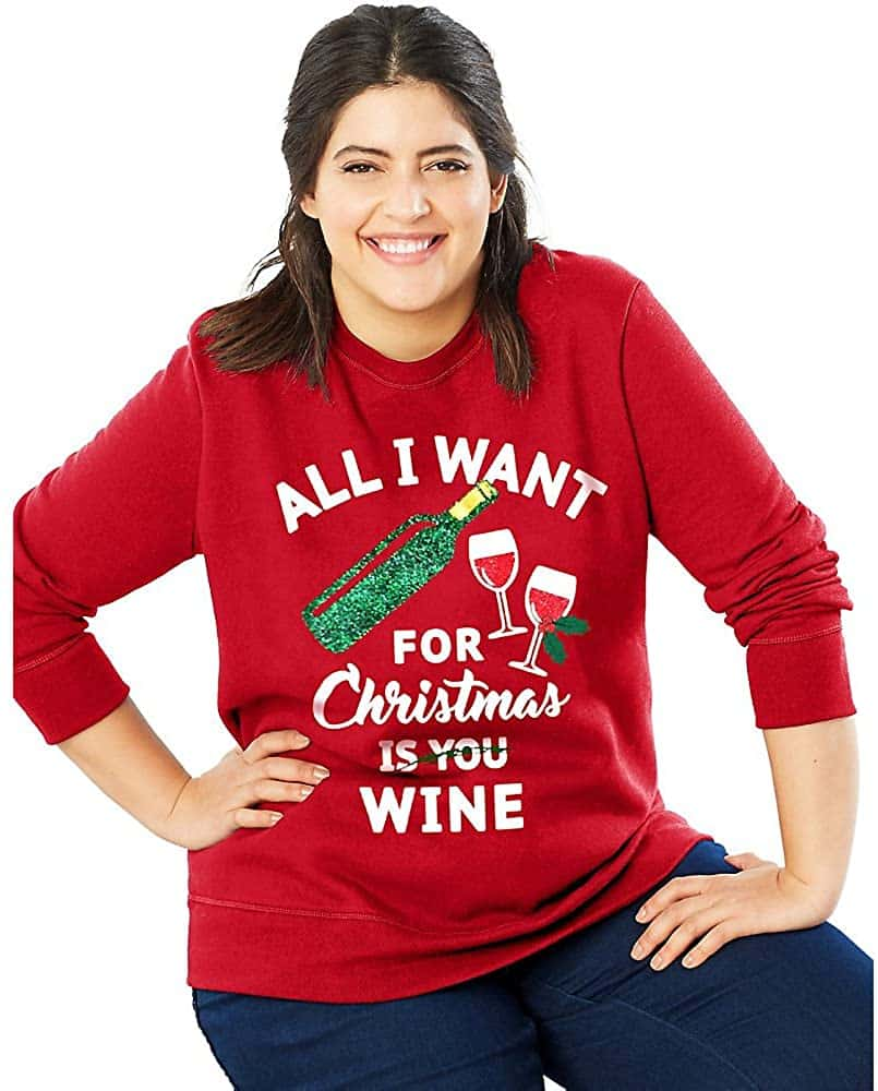 Funny Plus Size Christmas Sweaters 05