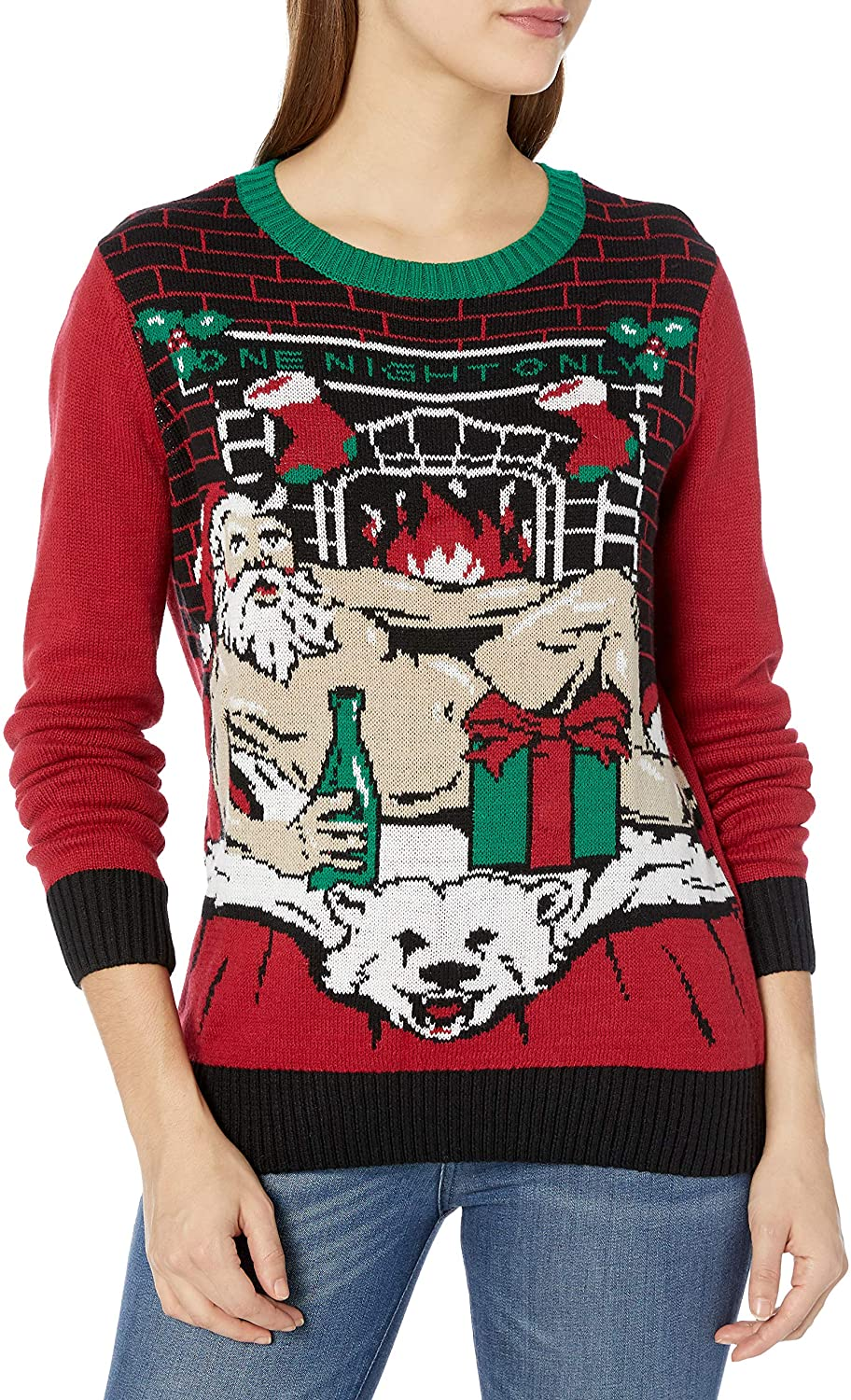 Funny Plus Size Christmas Sweaters 06
