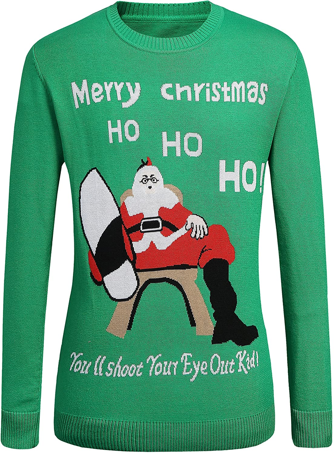 Funny Plus Size Christmas Sweaters 09