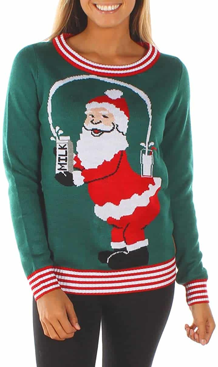 Funny Plus Size Christmas Sweaters 12