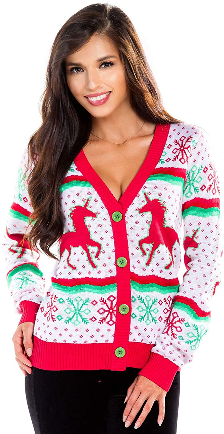 Plus Size Christmas Cardigan 05