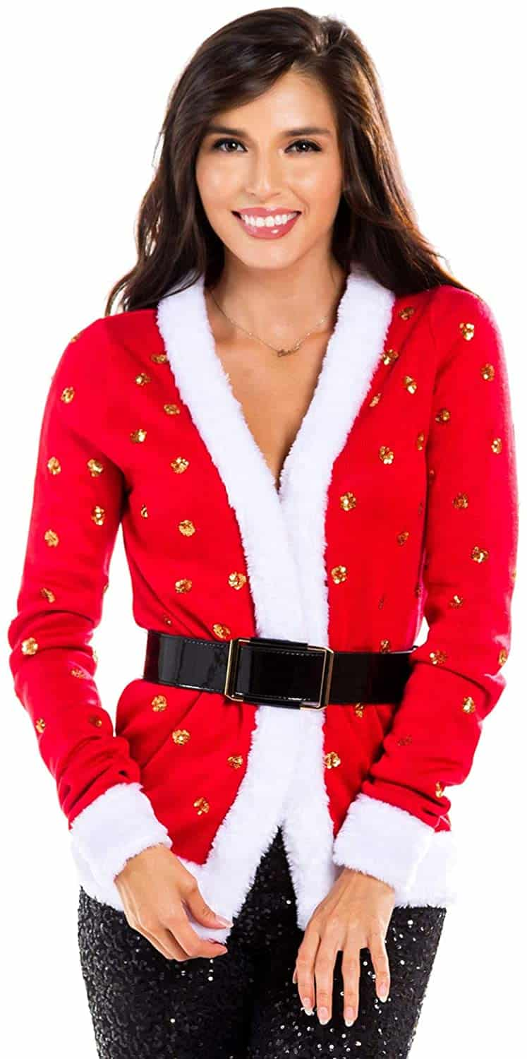 Plus Size Christmas Cardigan 13