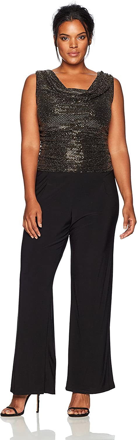 Plus Size Holiday Jumpsuit 01
