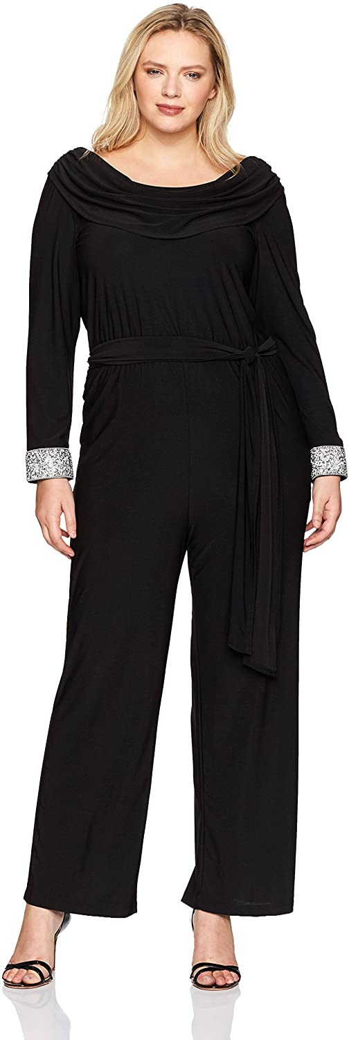 Plus Size Holiday Jumpsuit 08