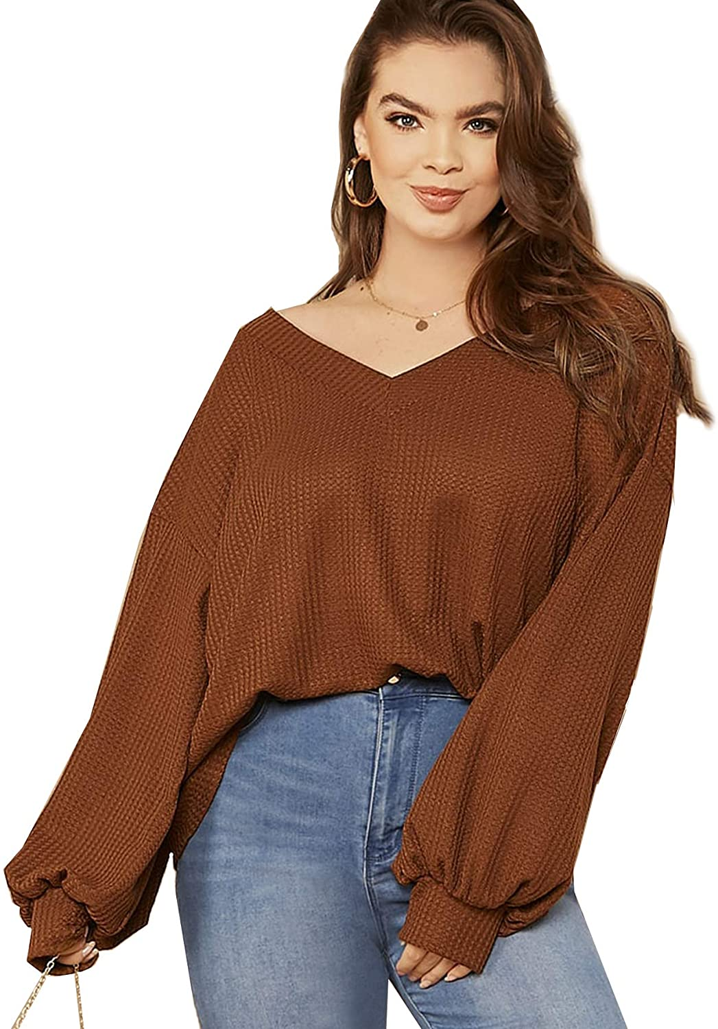 Plus Size Knit Ensemble 07