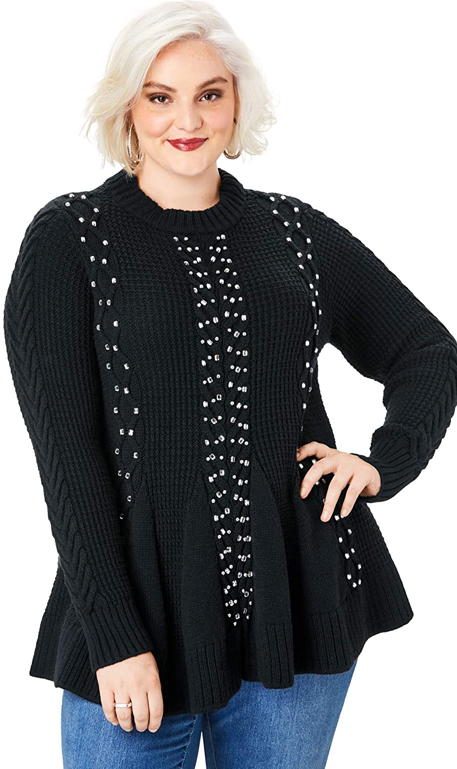 Plus Size Knit Ensemble 08