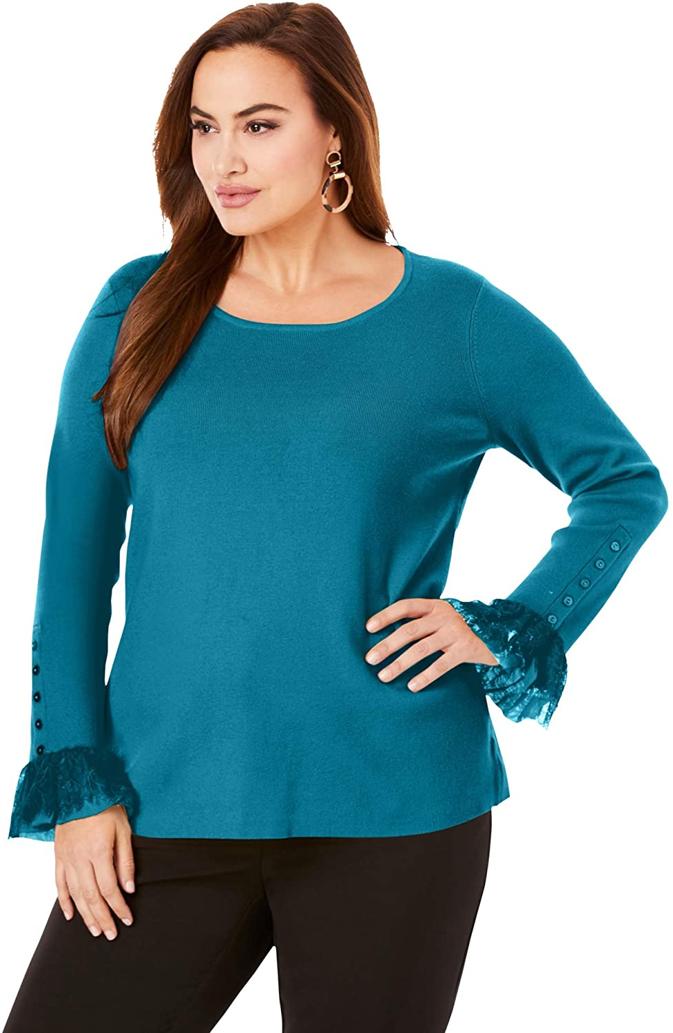 Plus Size Knit Ensemble 09
