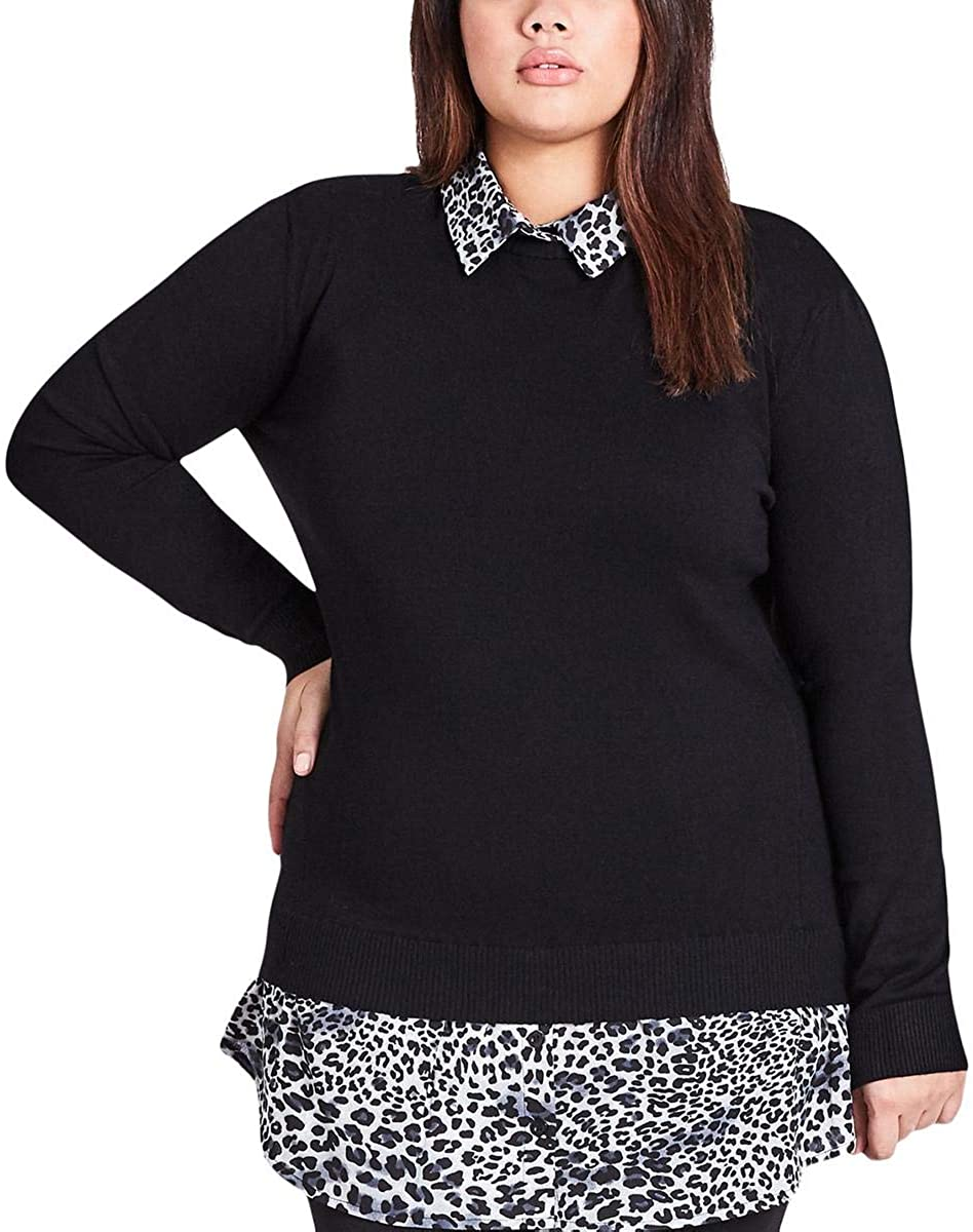 Plus Size Knit Ensemble 12