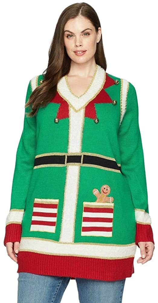 Plus Size Ugly Sweater 01