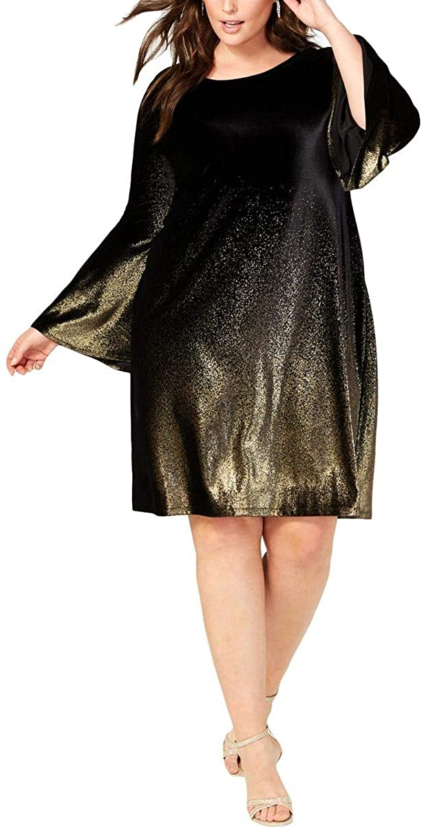 Plus Size Velvet Dress 07