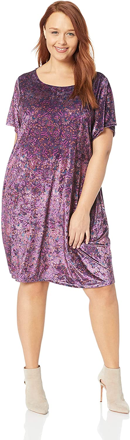 Plus Size Velvet Dress 10